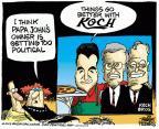 Cartoonist Mike Peters  Mike Peters' Editorial Cartoons 2014-02-07 too