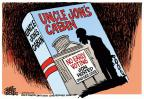 Cartoonist Mike Peters  Mike Peters' Editorial Cartoons 2014-02-26 election