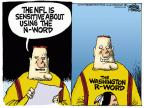 Cartoonist Mike Peters  Mike Peters' Editorial Cartoons 2014-02-28 football