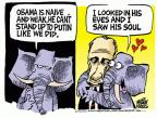 Cartoonist Mike Peters  Mike Peters' Editorial Cartoons 2014-03-05 Russia Ukraine