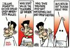 Cartoonist Mike Peters  Mike Peters' Editorial Cartoons 2014-03-14 public