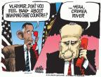 Cartoonist Mike Peters  Mike Peters' Editorial Cartoons 2014-03-20 troop