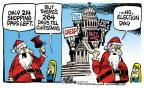 Cartoonist Mike Peters  Mike Peters' Editorial Cartoons 2014-04-03 judicial campaign