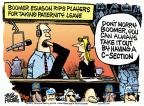 Cartoonist Mike Peters  Mike Peters' Editorial Cartoons 2014-04-04 baseball