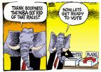 Cartoonist Mike Peters  Mike Peters' Editorial Cartoons 2014-05-01 association