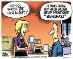 Cartoonist Mike Peters  Mike Peters' Editorial Cartoons 2014-05-08 television cartoon