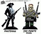 Cartoonist Mike Peters  Mike Peters' Editorial Cartoons 2014-06-13 violent