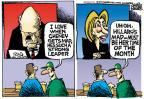 Cartoonist Mike Peters  Mike Peters' Editorial Cartoons 2014-06-19 Hillary Clinton