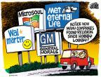 Cartoonist Mike Peters  Mike Peters' Editorial Cartoons 2014-07-03 lobby