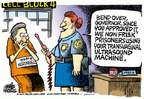 Cartoonist Mike Peters  Mike Peters' Editorial Cartoons 2014-09-05 machine