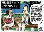 Cartoonist Mike Peters  Mike Peters' Editorial Cartoons 2014-10-17 education