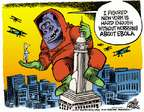 Cartoonist Mike Peters  Mike Peters' Editorial Cartoons 2014-10-24 New York City