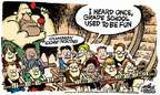 Cartoonist Mike Peters  Mike Peters' Editorial Cartoons 2015-02-13 education