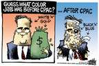 Cartoonist Mike Peters  Mike Peters' Editorial Cartoons 2015-02-28 bush