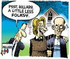 Cartoonist Mike Peters  Mike Peters' Editorial Cartoons 2015-04-17 2016 Election Hillary Clinton