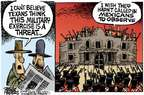 Cartoonist Mike Peters  Mike Peters' Editorial Cartoons 2015-05-08 military