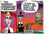 Cartoonist Mike Peters  Mike Peters' Editorial Cartoons 2015-10-22 Hillary Clinton