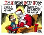 Cartoonist Mike Peters  Mike Peters' Editorial Cartoons 2015-12-30 gun