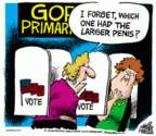 Cartoonist Mike Peters  Mike Peters' Editorial Cartoons 2016-03-04 2016 election Marco Rubio