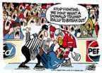 Cartoonist Mike Peters  Mike Peters' Editorial Cartoons 2016-03-13 violent
