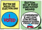 Cartoonist Mike Peters  Mike Peters' Editorial Cartoons 2016-04-07 we