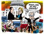 Cartoonist Mike Peters  Mike Peters' Editorial Cartoons 2016-04-28 2016 Election Hillary Clinton