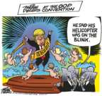 Cartoonist Mike Peters  Mike Peters' Editorial Cartoons 2016-07-21 2016 Republican convention