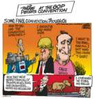 Cartoonist Mike Peters  Mike Peters' Editorial Cartoons 2016-07-22 Ted Cruz