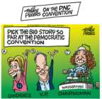 Cartoonist Mike Peters  Mike Peters' Editorial Cartoons 2016-07-25 2016 political convention