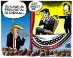 Mike Peters  Mike Peters' Editorial Cartoons 2017-07-27 Donald Trump