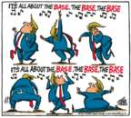 Mike Peters  Mike Peters' Editorial Cartoons 2017-08-25 Donald Trump