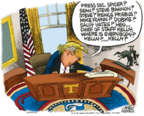 Cartoonist Mike Peters  Mike Peters' Editorial Cartoons 2018-02-14 house