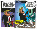 Cartoonist Mike Peters  Mike Peters' Editorial Cartoons 2018-02-28 rights