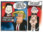Cartoonist Mike Peters  Mike Peters' Editorial Cartoons 2018-03-09 special