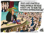 Cartoonist Mike Peters  Mike Peters' Editorial Cartoons 2018-04-26 house