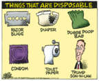 Cartoonist Mike Peters  Mike Peters' Editorial Cartoons 2018-05-04 family