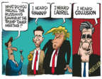 Cartoonist Mike Peters  Mike Peters' Editorial Cartoons 2018-05-21 Donald Trump and Russia