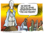 Cartoonist Mike Peters  Mike Peters' Editorial Cartoons 2018-06-05 journalism