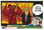Cartoonist Mike Peters  Mike Peters' Editorial Cartoons 2018-06-13 North Korea