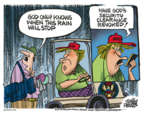 Cartoonist Mike Peters  Mike Peters' Editorial Cartoons 2018-08-17 Donald
