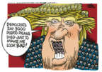 Cartoonist Mike Peters  Mike Peters' Editorial Cartoons 2018-09-14 Donald