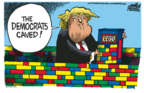 Cartoonist Mike Peters  Mike Peters' Editorial Cartoons 2019-02-12 administration