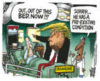 Cartoonist Mike Peters  Mike Peters' Editorial Cartoons 2019-03-27 plan