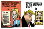 Cartoonist Mike Peters  Mike Peters' Editorial Cartoons 2019-04-25 plan