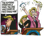 Cartoonist Mike Peters  Mike Peters' Editorial Cartoons 2019-05-08 Hillary Clinton