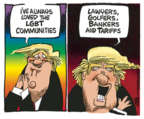 Cartoonist Mike Peters  Mike Peters' Editorial Cartoons 2019-06-04 Presidency