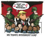 Cartoonist Mike Peters  Mike Peters' Editorial Cartoons 2019-06-13 family