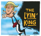 Cartoonist Mike Peters  Mike Peters' Editorial Cartoons 2019-07-25 Donald