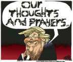Cartoonist Mike Peters  Mike Peters' Editorial Cartoons 2019-05-19 mass shooting