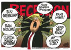 Cartoonist Mike Peters  Mike Peters' Editorial Cartoons 2019-08-21 political media